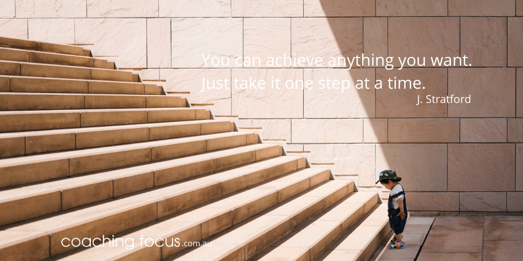 Coaching Focus - You can achieve anything you want.
