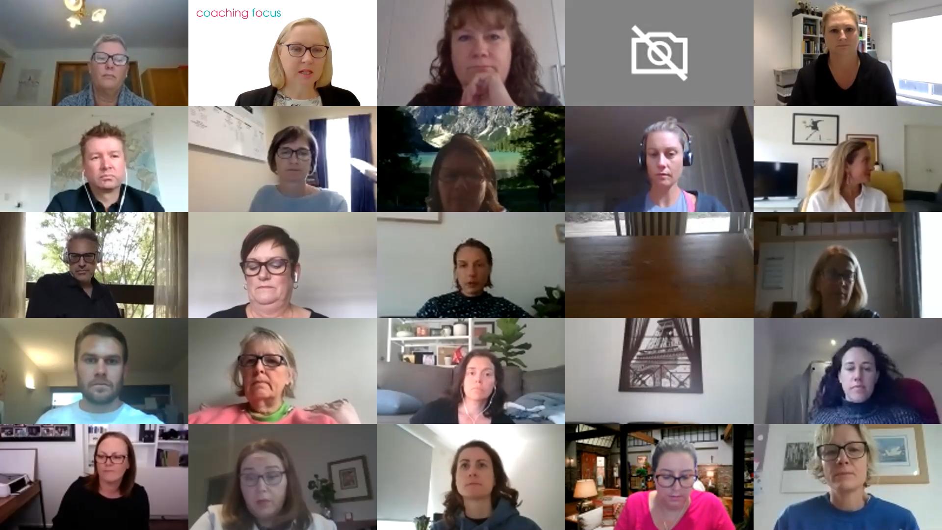 Coaching Focus - Zoom Meeting