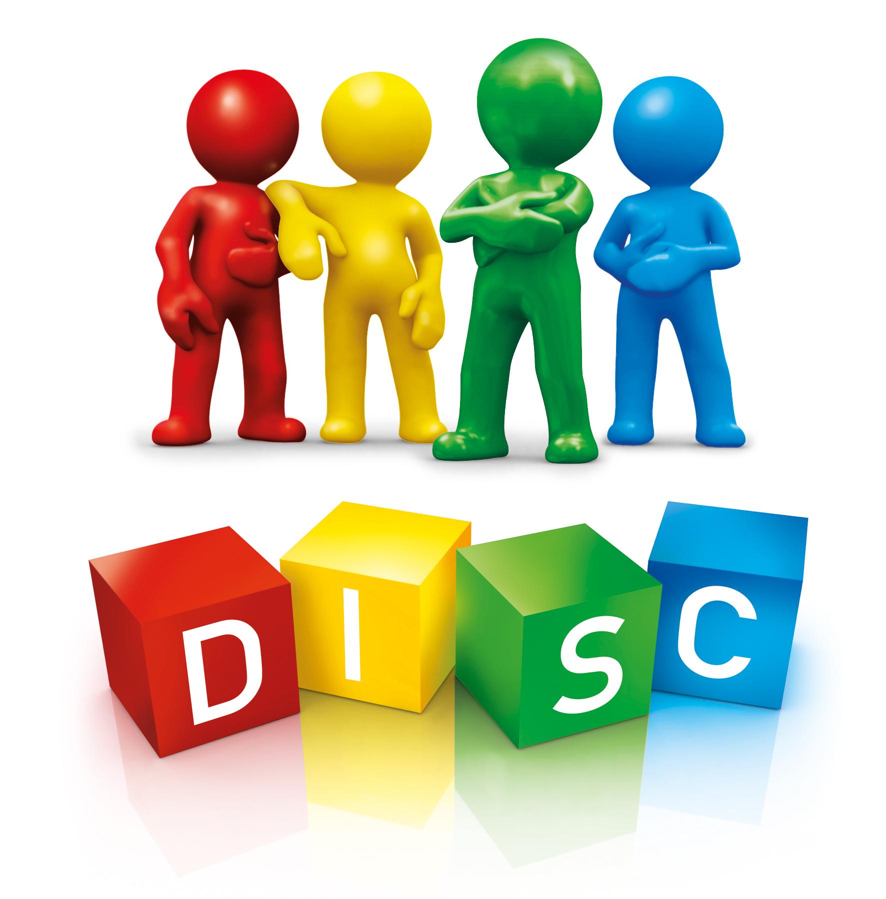 Coaching Focus - DISC Dudes with Cubes