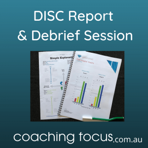 Coaching Focus - DISC Report & Debrief