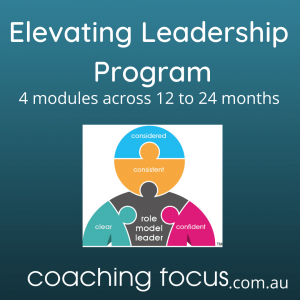Coaching Focus - Elevating Leadership Program Product