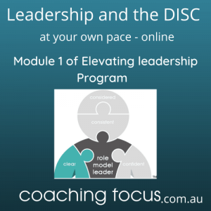 Coaching Focus - Module 1 at your pace product